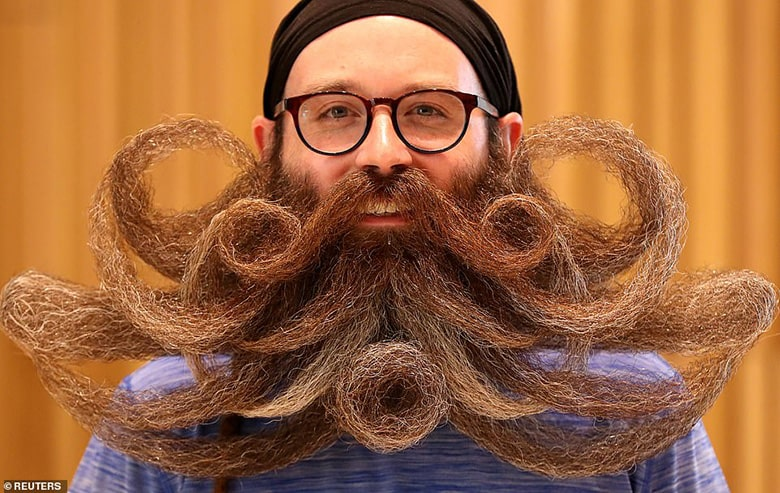 long with cool beard styles