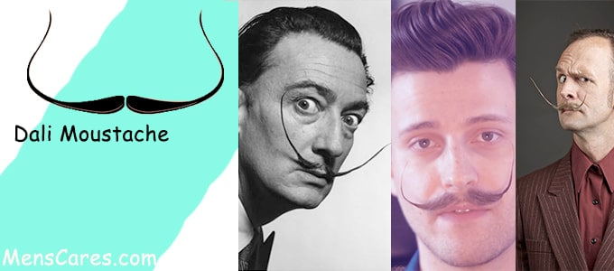 Best Mustache Styles For Men - Dali Moustache