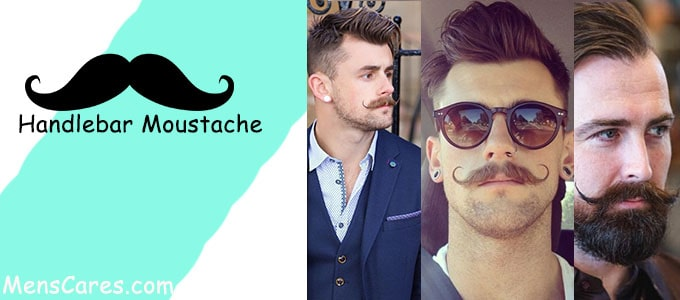 Best Mustache Styles For Men - Handlebar Moustache