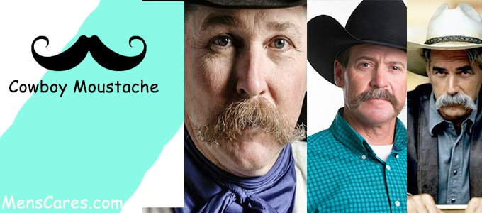 Best Mustache Styles For Men - Cowboy Moustache