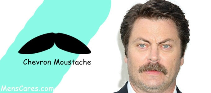 Best Mustache Styles For Men - Chevron Moustache