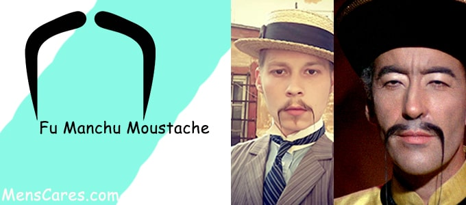 Best Mustache Styles For Men - Fu Manchu Moustache