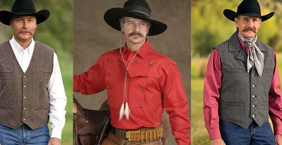 Cowboy Mustache styles 1