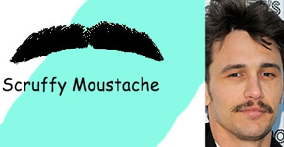 Most Popular Scruffy Mustache Style