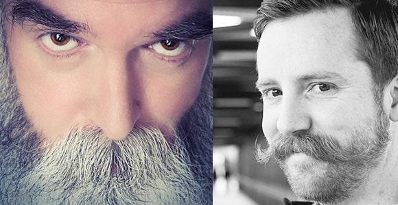 walrus mustache with beard