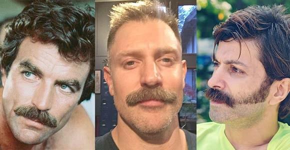Chevron Mustache Style
