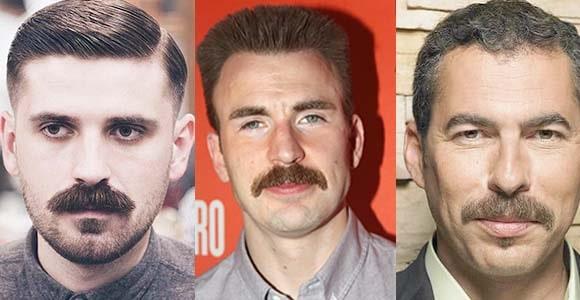 Popular Chevron Mustache