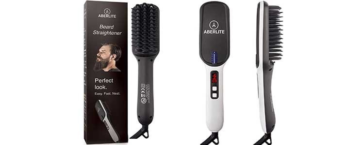 Best Beard Straightener for Men - Beard Straightening Heat Brush Comb