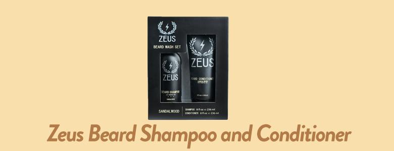 Zeus - Beard Shampoo and Conditioner For Men