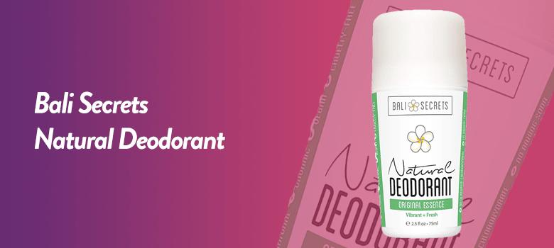 bali secrets natural deodorant