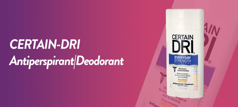 Men's Best Deodorants and Antiperspirant