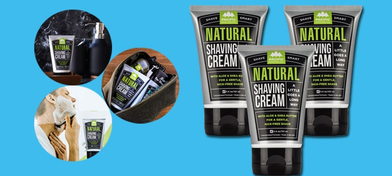 Cruelty-Free Natural Shaving Cream